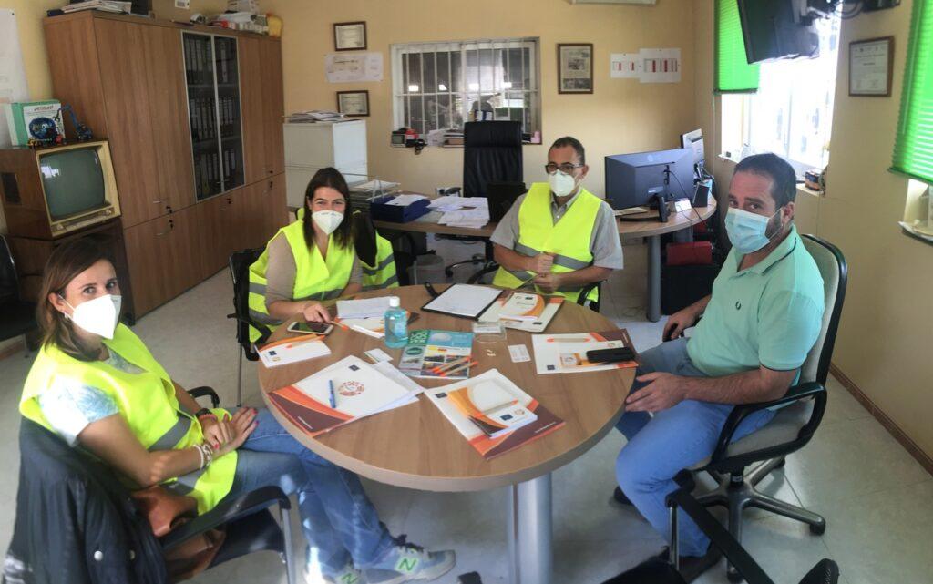 Reunión en Reciclajes Pozo Cañada S.L.